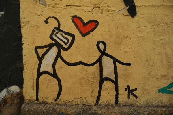 graffiti-verliefd